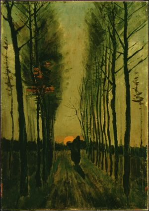 Van Gogh sunset