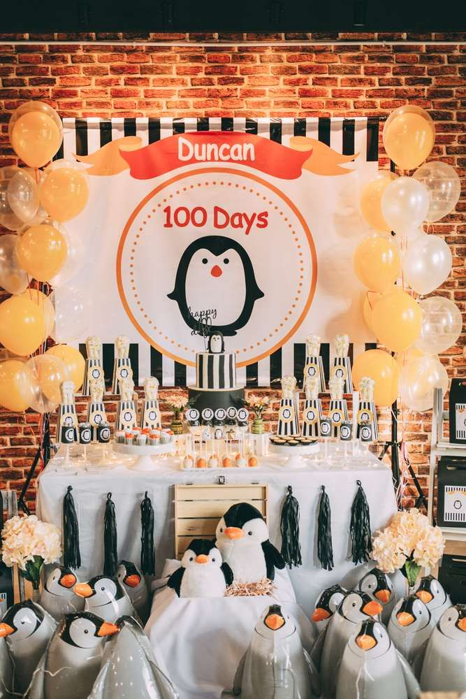 penguin themed baby shower party ideas  themed baby showers, baby, Baby shower invitation