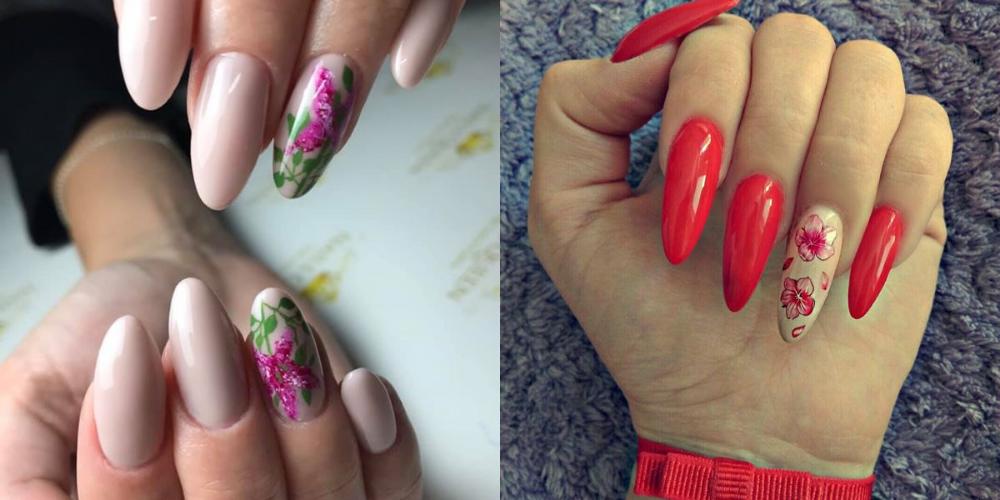 Kwiaty Na Paznokciach Hybrydowych Nails Blog Beauty
