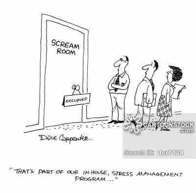 Stress Management Cartoons Dave Carpenter Stress Management Stress Stress Reduction Techniques