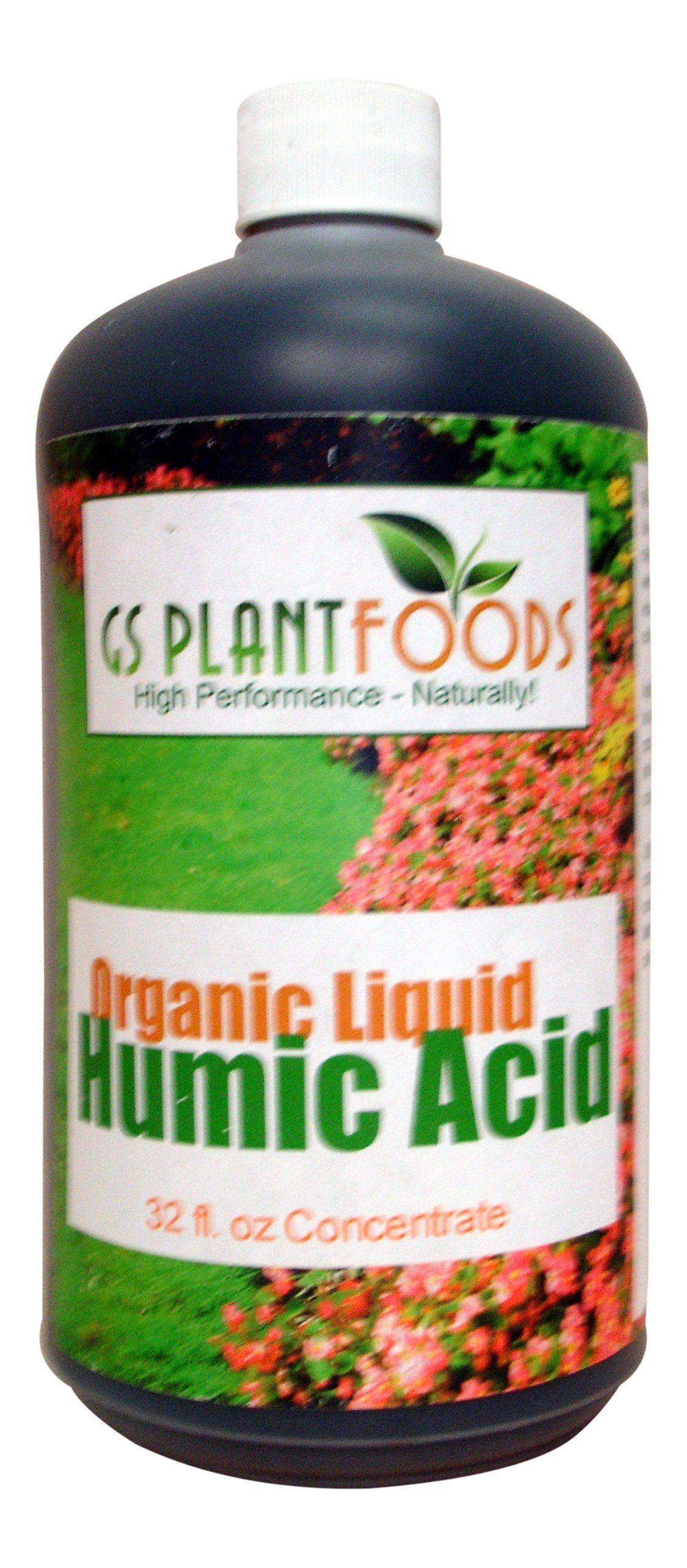 Organic Liquid Humic Acid 32 Fl Oz Concentrate