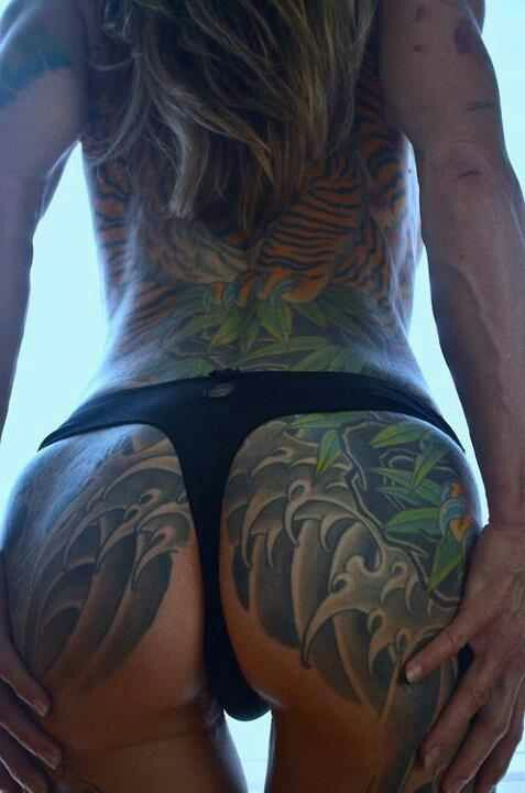 Back butt tattoo little bit of everything pinterest for Tattoos on your butt
