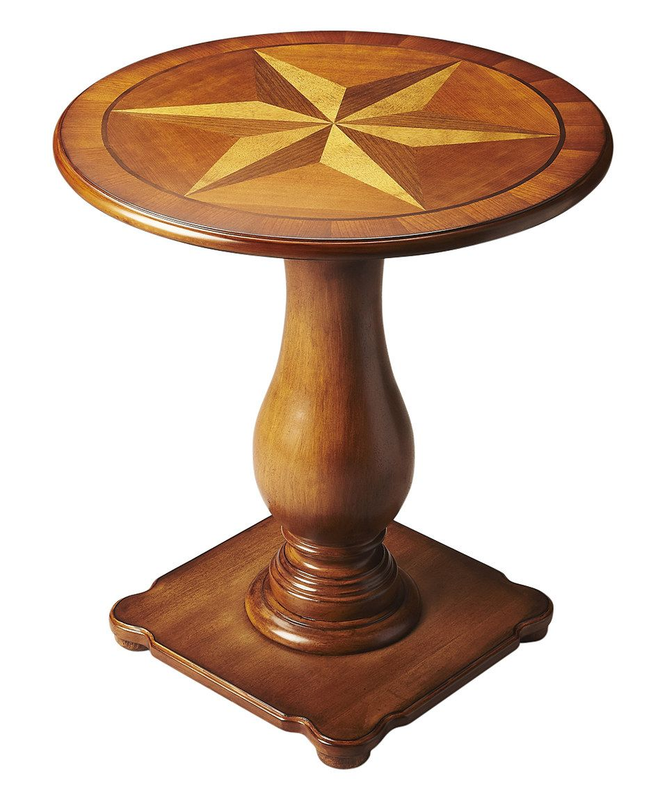 Look what I found on #zulily! Poplar Pedestal Table by Butler Specialty Company #zulilyfinds