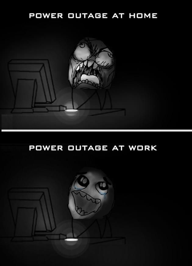 Power Outage At Work August 29 Work Humor Funny Pictures Workplace Humor