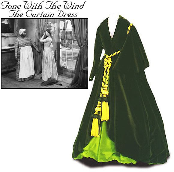 Scarlet 39 S Curtain Dress From Gone With The Wind 1939