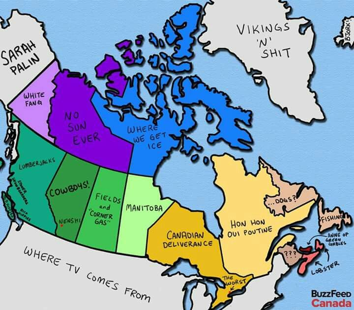 How Canadians view Canada the their surroundings