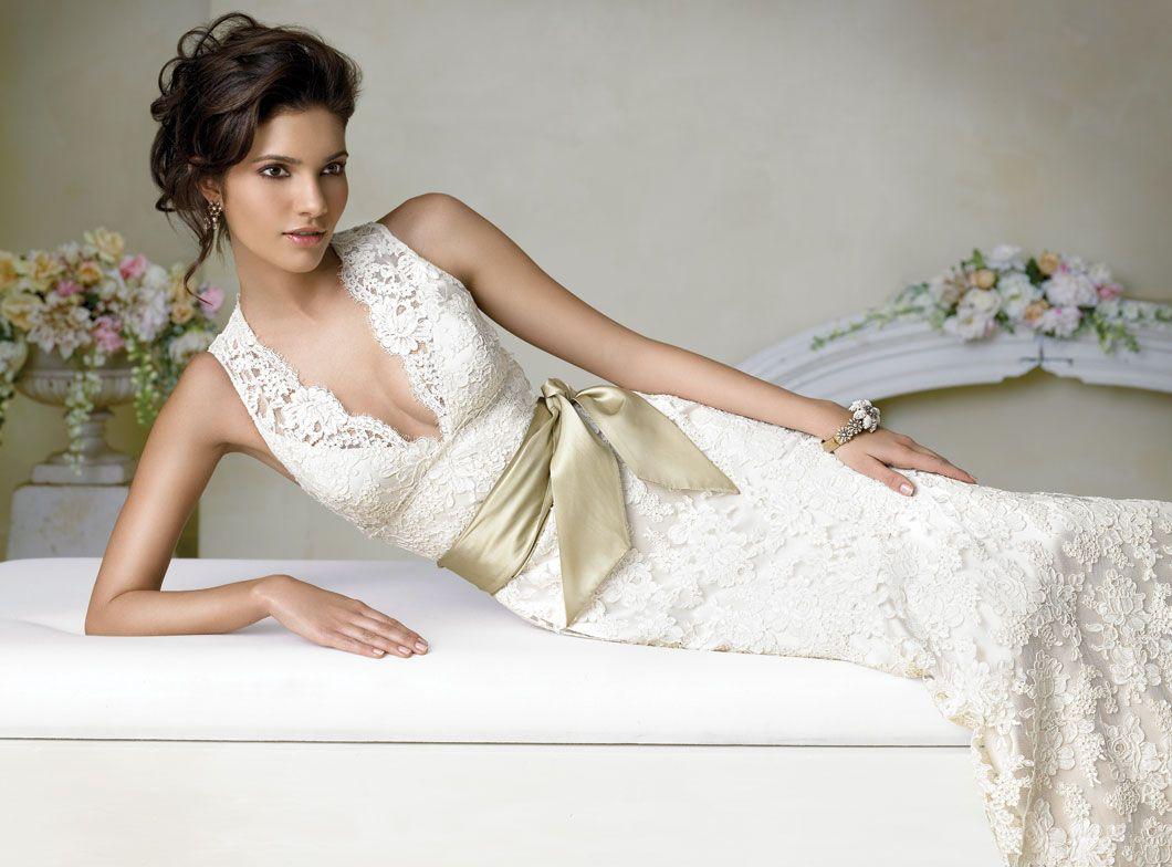 Jim Hjelm ivory lace style 8663   Wedding Dresses   Pinterest ...