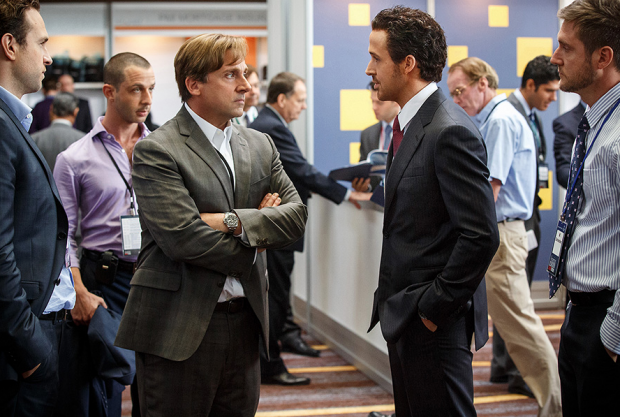 Steve Carell, Ryan Gosling among big cast in Adam McKay's 'The Big Short' trailer