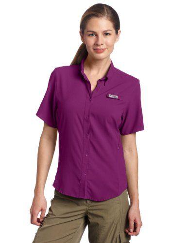 Columbia Womens Tamiami Ii Short Sleeve Shirt
