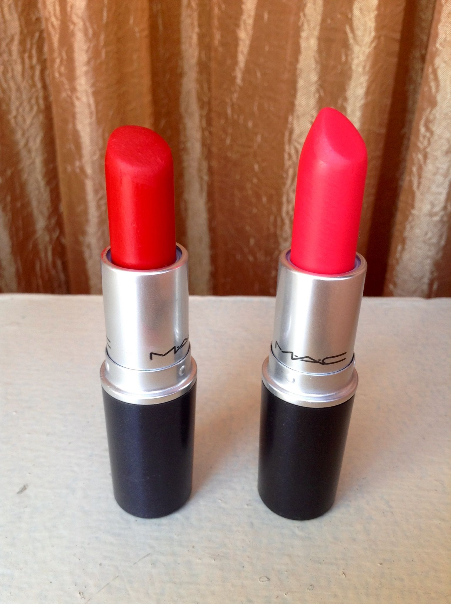 Ruby Woo Vs Relentlessly Red