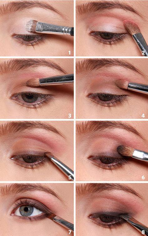 Como se hace: Maquillaje de ojos natural