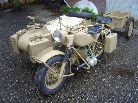 What Motorcycles Were Used During World War Ii Quora