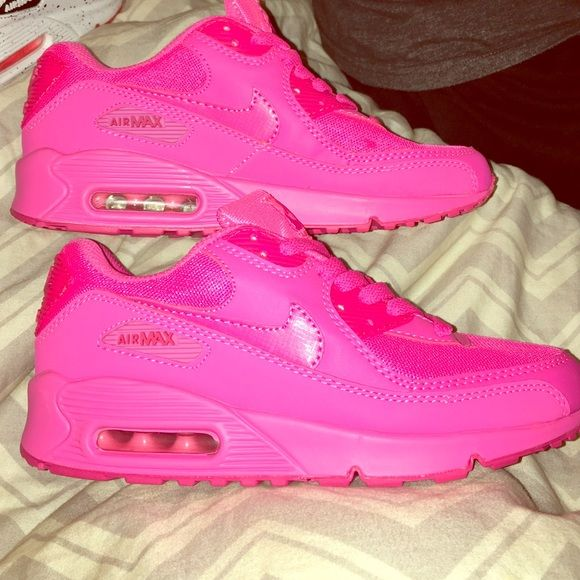 Athletic · Nike Air Max 90's Rare Color: Pink Solid pink brand new ...