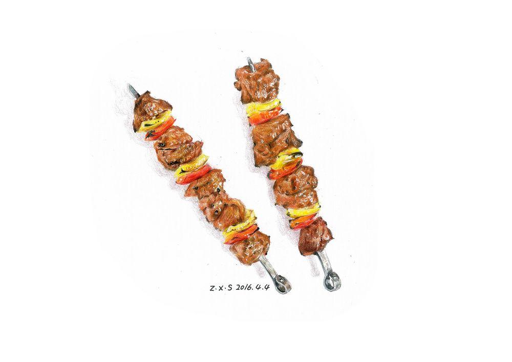 pin on food illustrations