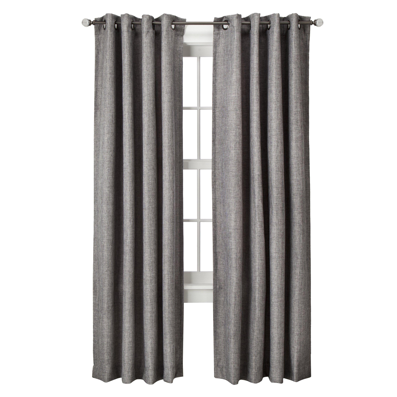 Threshold Basketweave Window Panel Panel Curtains Curtains Window Panels