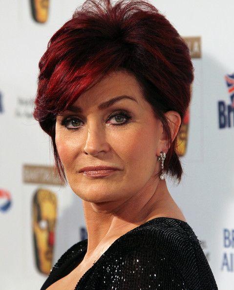 Sharon Osbourne Dangling Diamond Earrings Attended Bafta La S Annual British Comedy Festival
