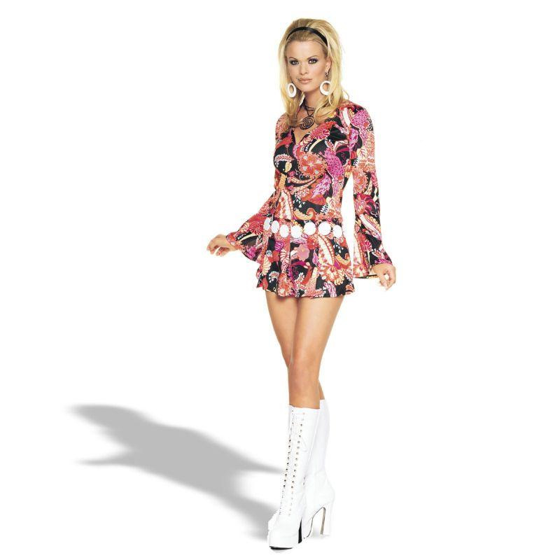 Adult Ivanna Go Go Costume Size XL US 14-16