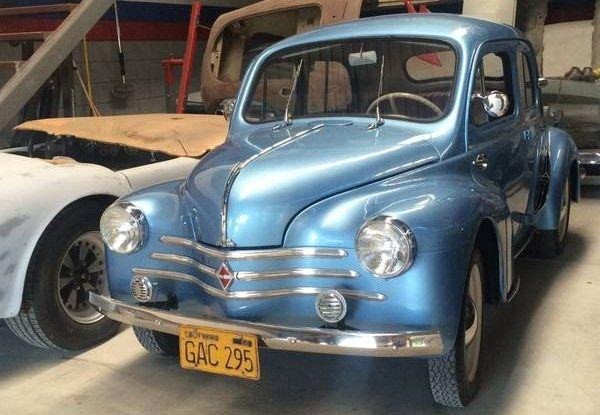 Parlez Vous Francais 1956 Renault 4cv Renault 4 Renault Alpine Renault