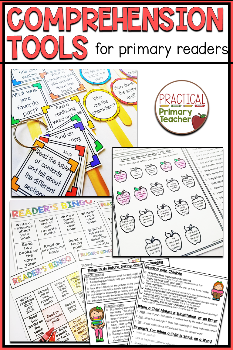 - Comprehension Activities (With Images) Comprehension Tools