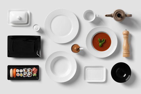 Restaurant & Food Mock-Up on Behance
