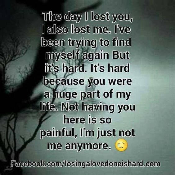 So True Missing My Beautiful Sis So Much Half Of Me Went With You The Day You Went Home To Heaven Xxxxx Grief Quotes Grieving Quotes Quotes