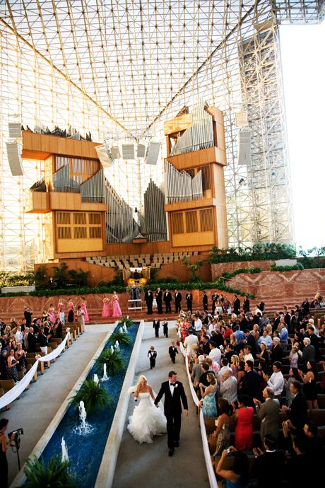 crystal cathedral wedding oneday