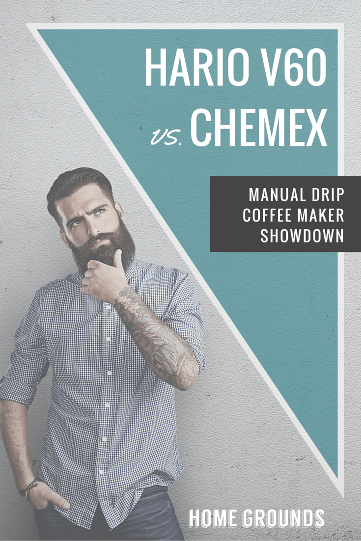 Hario V60 Vs Chemex Manual Drip Coffee Maker Showdown Pinterest