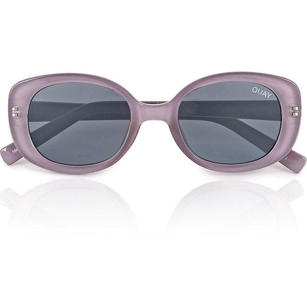 Gafas ❤ sol redondeadas accesorios redondas Polyvore de lila color de gafas 59 Gafas sol en Quila con Lulu Me Australia de gustó Gafas Gris gris Gris de rzrHqE