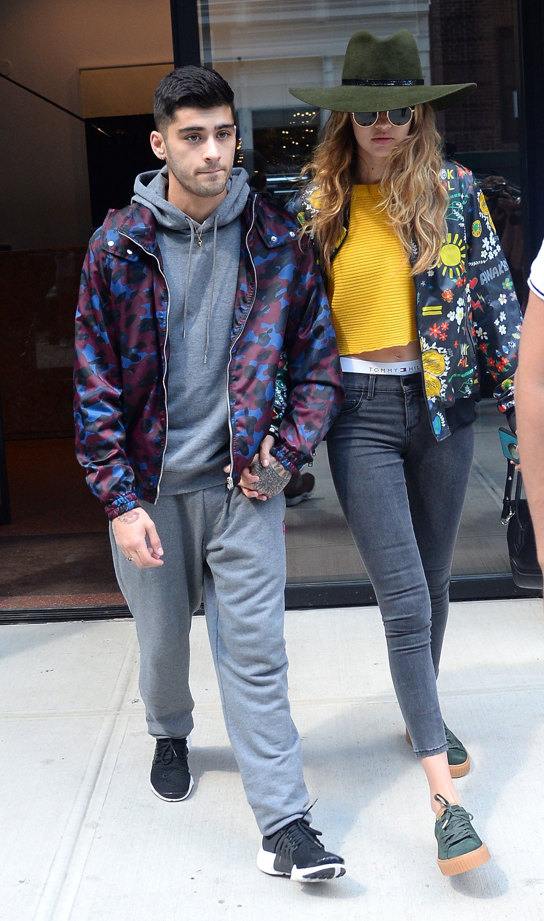 72629b6feb19 Gigi Hadid and Zayn Malik on the Vogue 2017 August Cover  See Their Best  Couple Fashion Moments