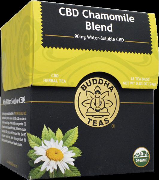 Cbd Chamomile Blend 90mg Water Soluble Cbd Cbd Lavender Tea Flower Tea