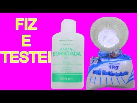 Como Fazer Bicarbonato De Sodio Caseiro-Pra Fazer SLIME-Fiz e Testei Olha  No que Deu!!! - YouTube be49c29df652a
