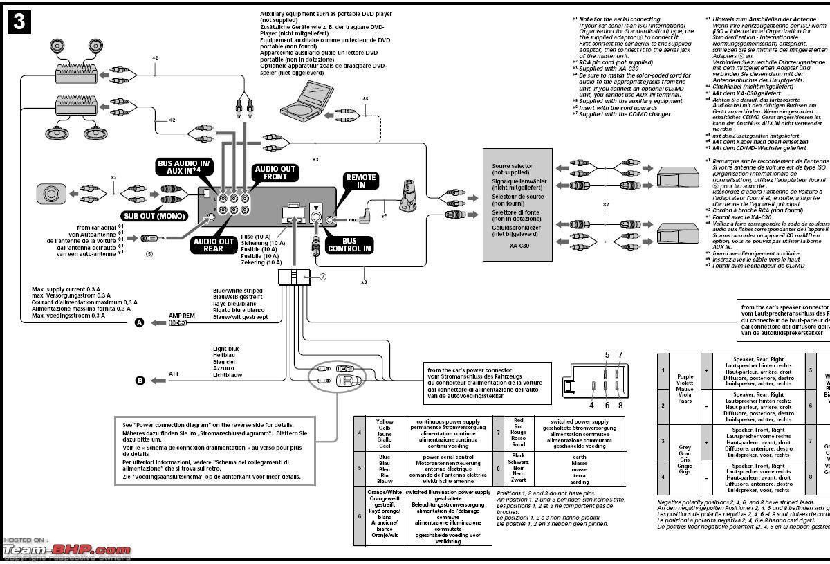 Sony Cdx L550x Wiring Diagram