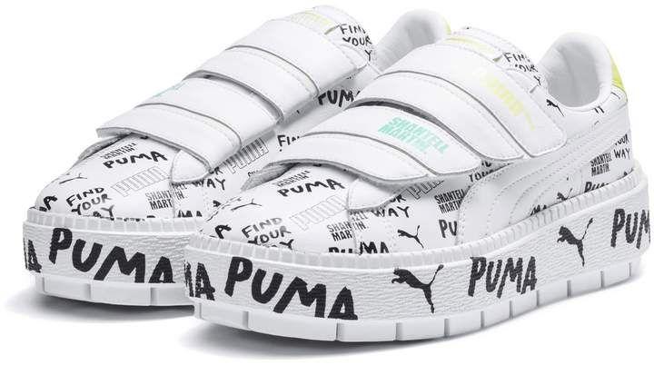 PUMA x SHANTELL MARTIN Platform Trace Strap Women's Sneakers