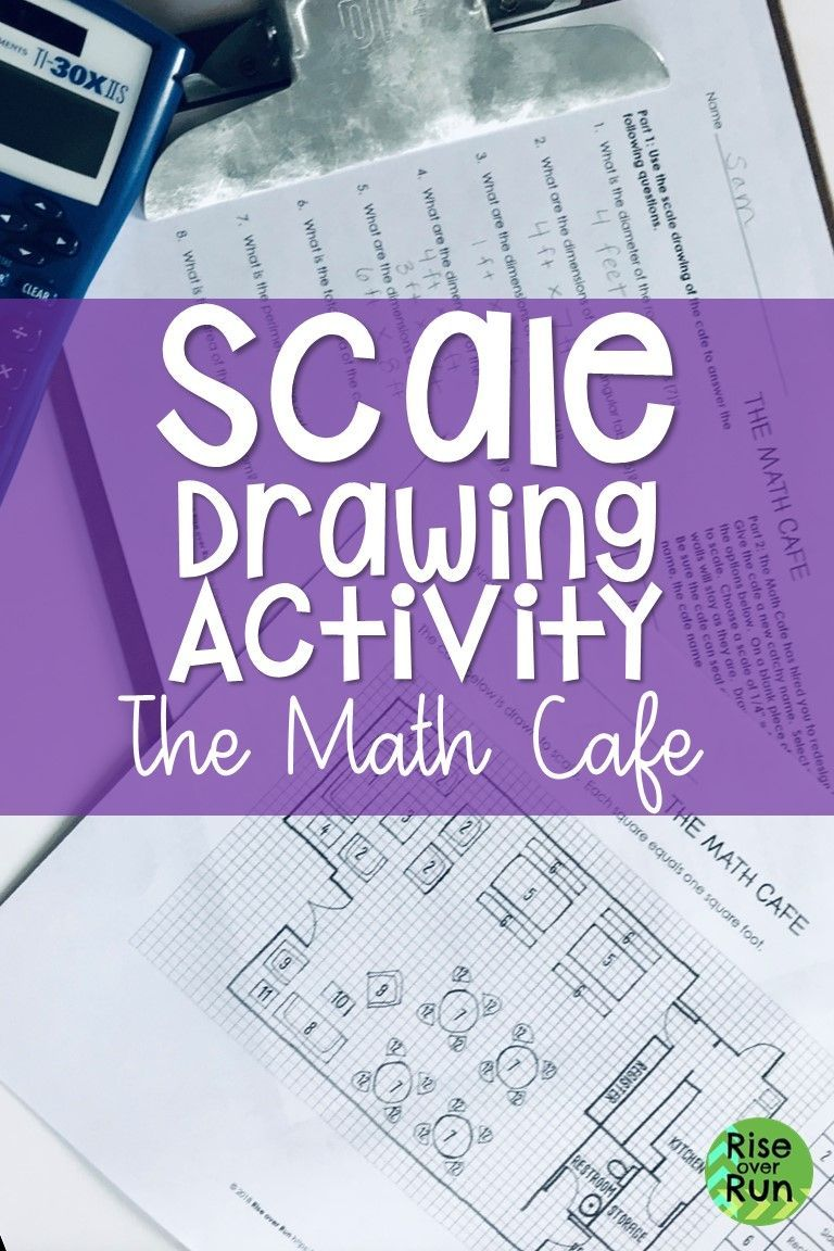 Such A Fun Activity This Engaging Project Will Give Students A Real World Application For Scale Drawings Student 7th Grade Math Math Cafe Fun Math Activities [ 1152 x 768 Pixel ]