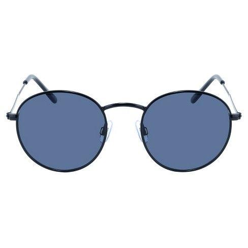 e0edb59025 Women s Small Round Metal Sunglasses - Wild Fable™ Black   Target
