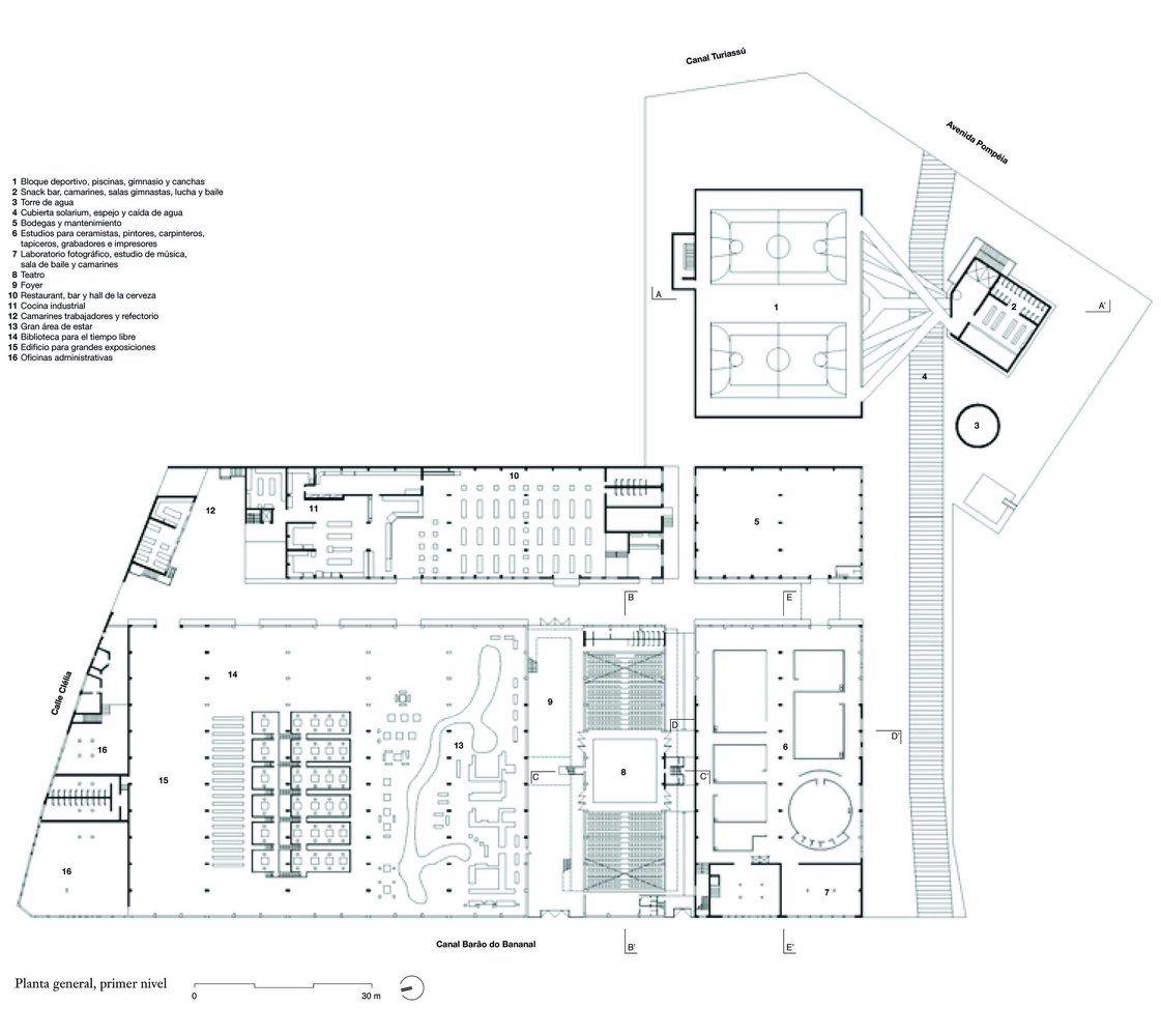 Galería de Clásicos de Arquitectura: SESC Pompéia / Lina Bo Bardi - 21