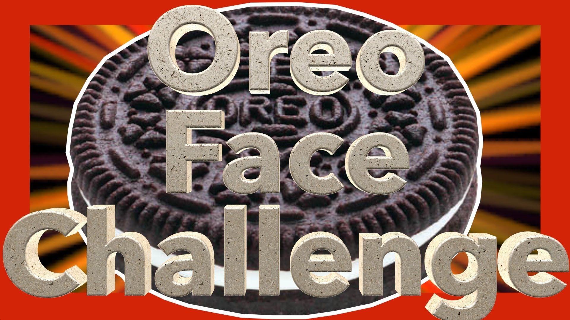 Oreo Face Challenge #oreo