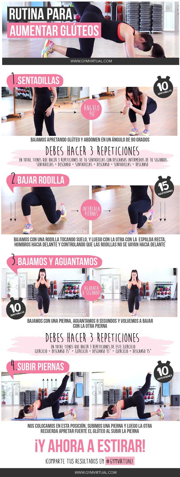 ejercicios para gluteos principiantes mujeres
