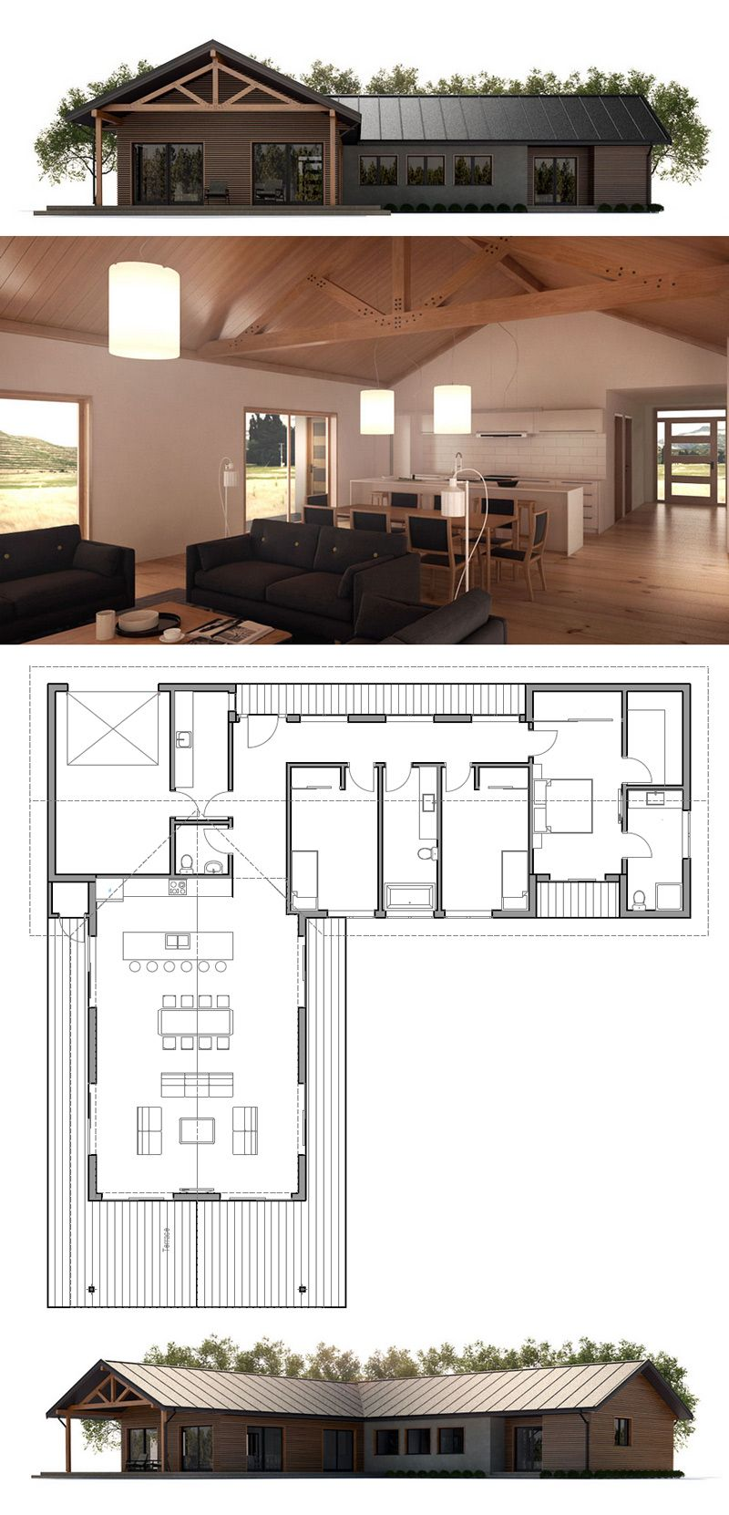plan de maison plans de maisons pinterest container house plans house and architecture. Black Bedroom Furniture Sets. Home Design Ideas