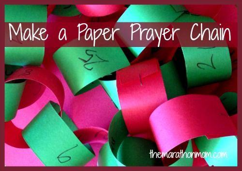 Paper Prayer Chain: Countdown to Christmas