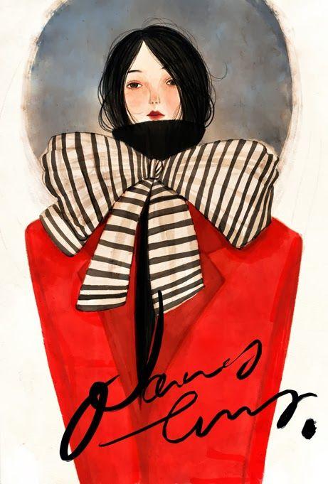 Black in Red.   Nancy Zhang