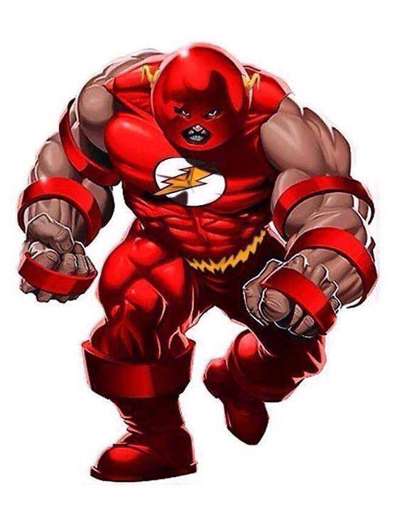 Flash as the Juggernaut