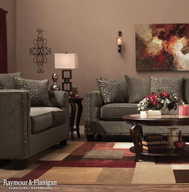 Maroon Grey And White Living Room: Tips And Selection Of Coffee Tables