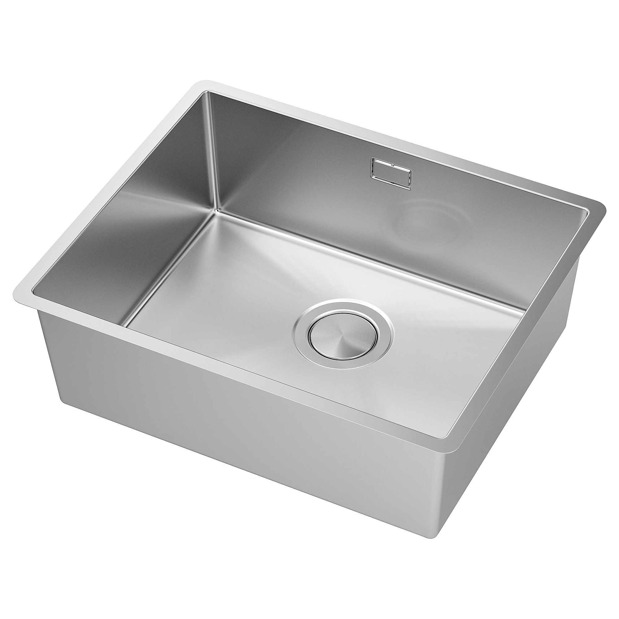 Norrsjon Inset Sink 1 Bowl Stainless Steel Ikea Inset Sink Sink Sink Accessories