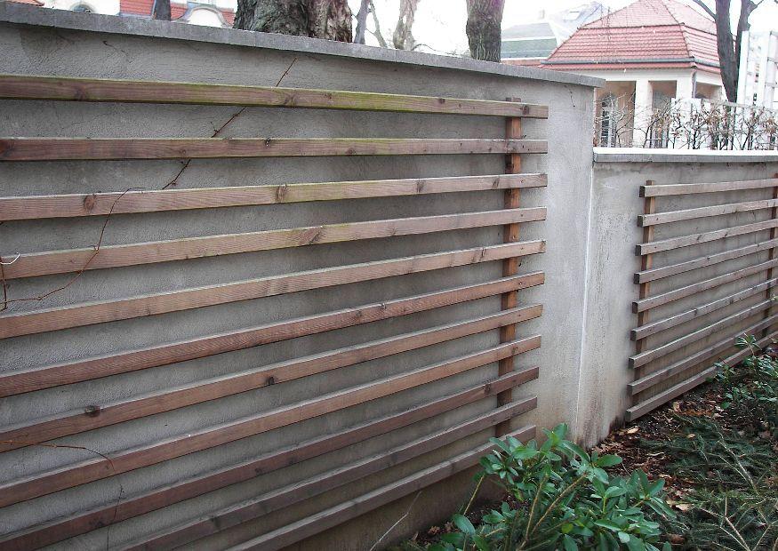 bilder und notizen]: gartengestaltung gartenmauer mit spalier, Gartenarbeit ideen