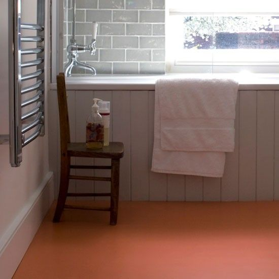 Terracotta Bathroom Floor Tiles. Terracotta Vinyl Sheet Flooring From The Colour Flooring Company