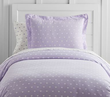 Heart Flannel Duvet Full Queen Lavender Bedding Covers Pinterest And Products