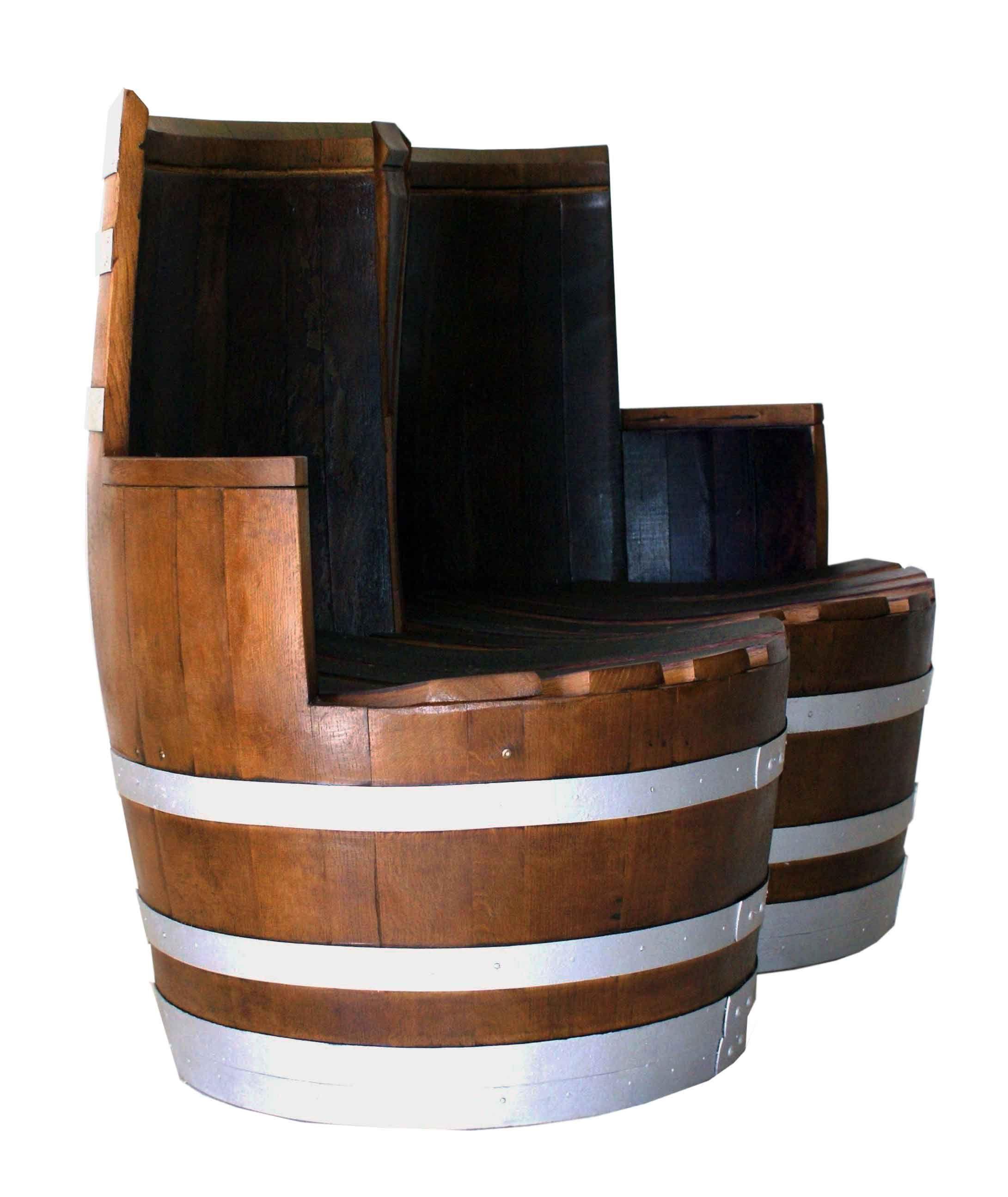 Esta butaca de dos plazas es perfecta para espacios - Duelas de madera ...