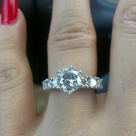 My Solitaire engagement ring
