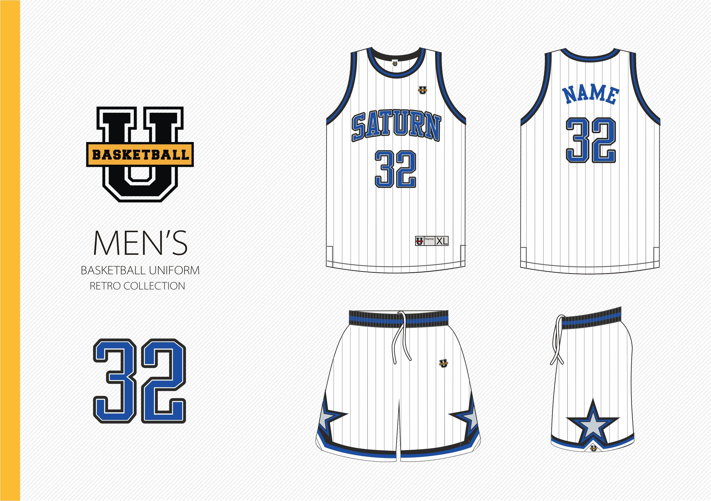 ae40290b531 Custom Basketball Uniform UB Retro Order - min 10 sets - 59.90  + paypal +  production time 4 weeks + worldwide delivery